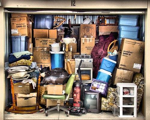 Хранение вещей на время переезда